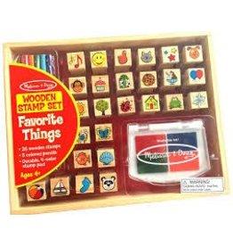 Melissa & Doug Stamp Set - Favorite Things
