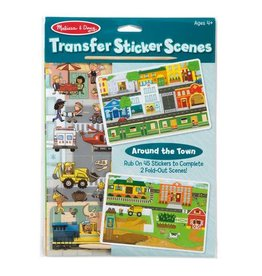 Melissa & Doug Transfer Sticker Set - Around the Town