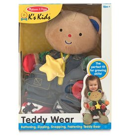 Melissa & Doug Baby Plush Teddy Wear