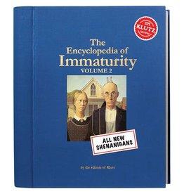 Klutz Klutz The Encyclopedia of Immaturity Volume 2