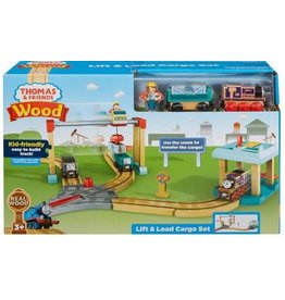 Fisher-Price Thomas & Friends Wood Lift & Load Cargo Set