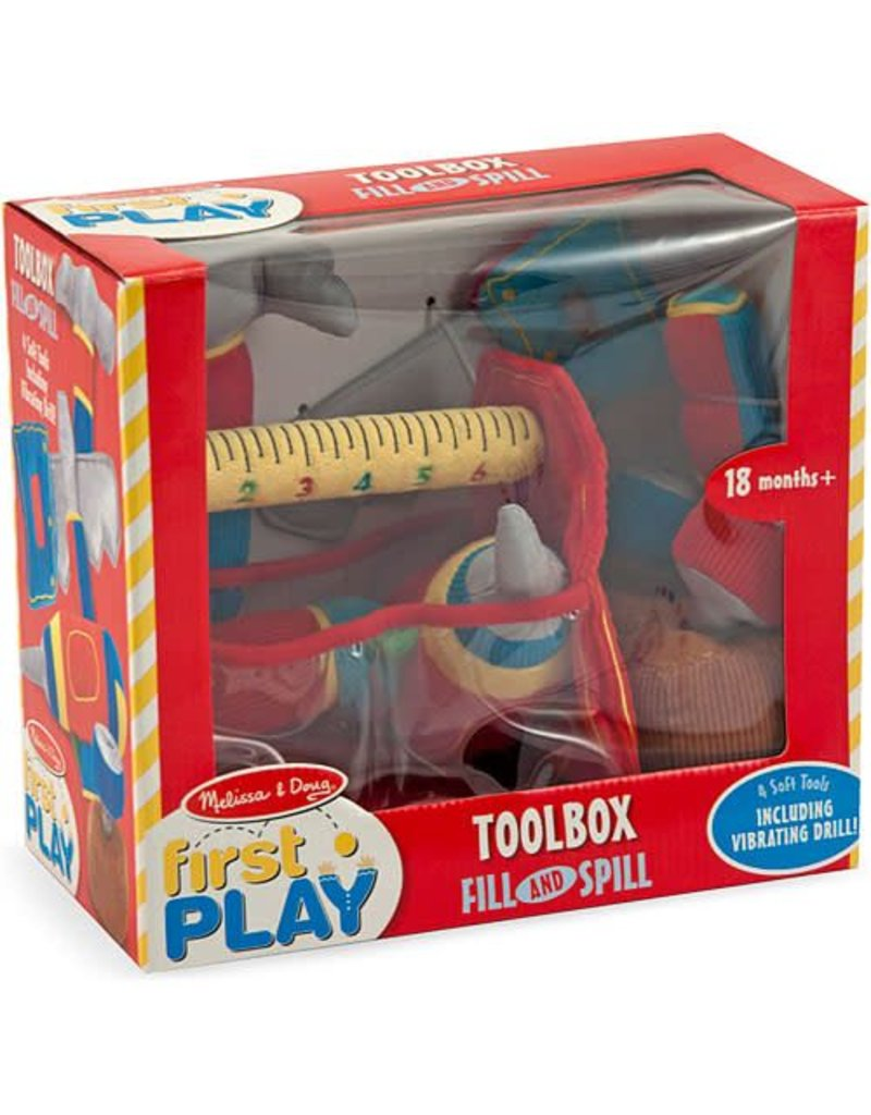 Melissa & Doug Baby First Play Toolbox Fill and Spill