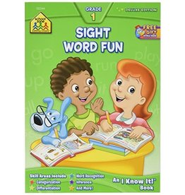School Zone Workbook - Sight Word Fun - Grade 1