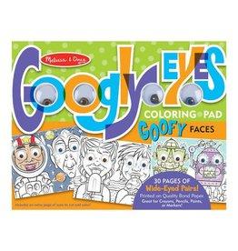 Melissa & Doug Googly Eyes Coloring Pad - Wacky Faces