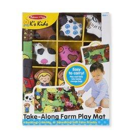 Melissa & Doug Baby Take-Along Farm Play Mat