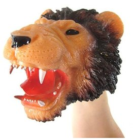 Schylling Toys Plastic Stretchy Safari Puppet (Assorted)