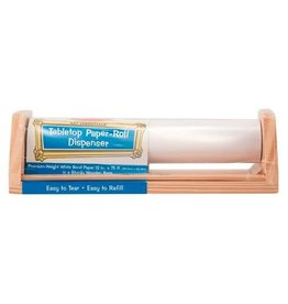 Melissa & Doug Art Supplies - Tabletop Paper-Roll Dispenser