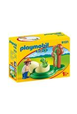 Playmobil Playmobil 123 Girl with Dino Egg