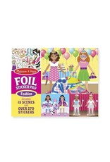 Melissa & Doug Foil Sticker Pad - Fashion