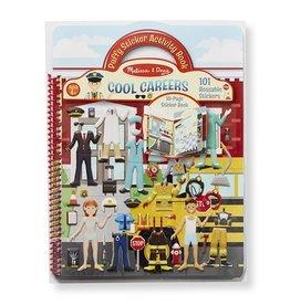 Melissa & Doug Puffy Sticker Activity Book - Cool Careers