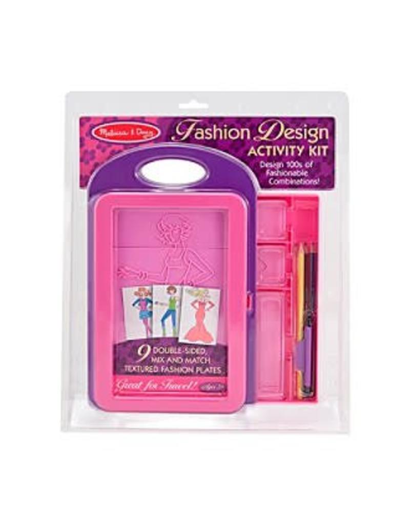 Melissa Doug Craft Kit Design Activity Kit Fashion Pow Science Llc
