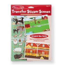 Melissa & Doug Transfer Sticker Scenes - Around the Farm