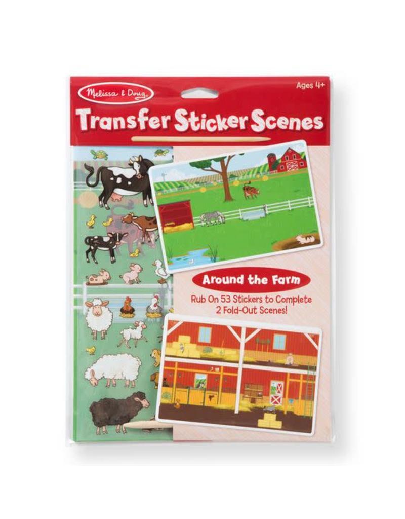 Melissa & Doug All Transfer Sticker Set - Around the Farm 9531