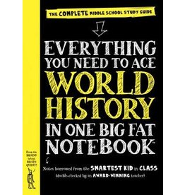 Workman Publishing Co Book - Everything You Need to Ace World History