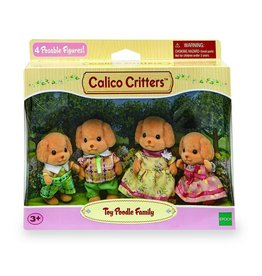 Epoch Calico Critters Toy Poodle Family