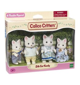 Epoch Calico Critters Silk Cat Family