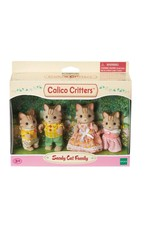International Playthings Calico Critters Sandy Cat Family