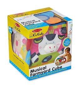 Melissa & Doug Baby Musical Farmyard Cube