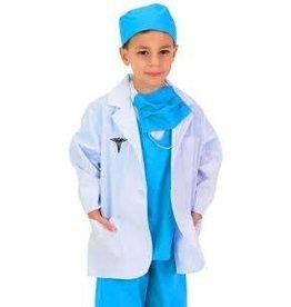 Aeromax Costume - Jr. Dr. Lab Coat (size 8-10)