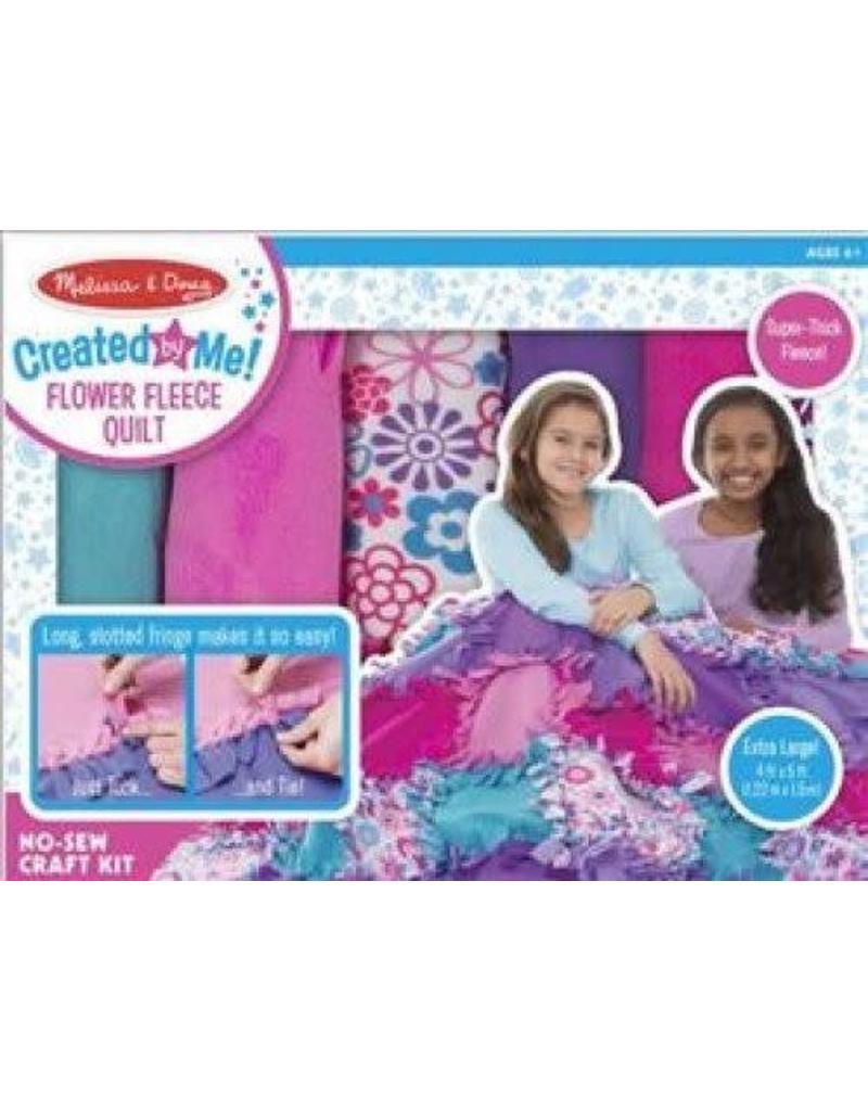 Melissa & Doug Created by Me! Flower Fleece Quilt