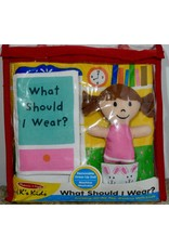 Melissa & Doug Baby Soft Book - What Should I Wear?