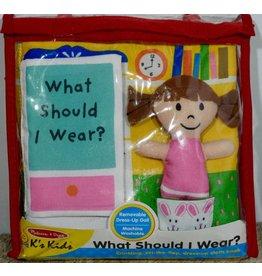 Melissa & Doug Soft Book - What Should I Wear?