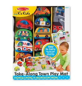 Melissa & Doug Baby Take-Along Town Play Mat