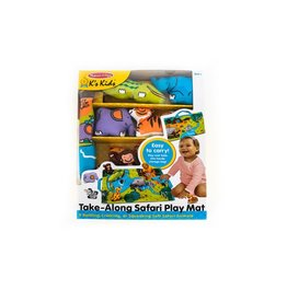 Melissa & Doug Take-Along Wild Safari Play Mat