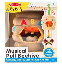 Melissa & Doug Baby Musical Pull Beehive