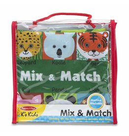 Melissa & Doug Soft Book - Mix & Match