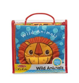 Melissa & Doug Baby Soft Book - Wild Animals