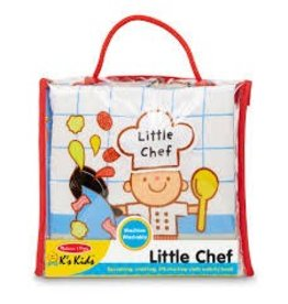 Melissa & Doug Soft Activity Baby Book Plush - Little Chef
