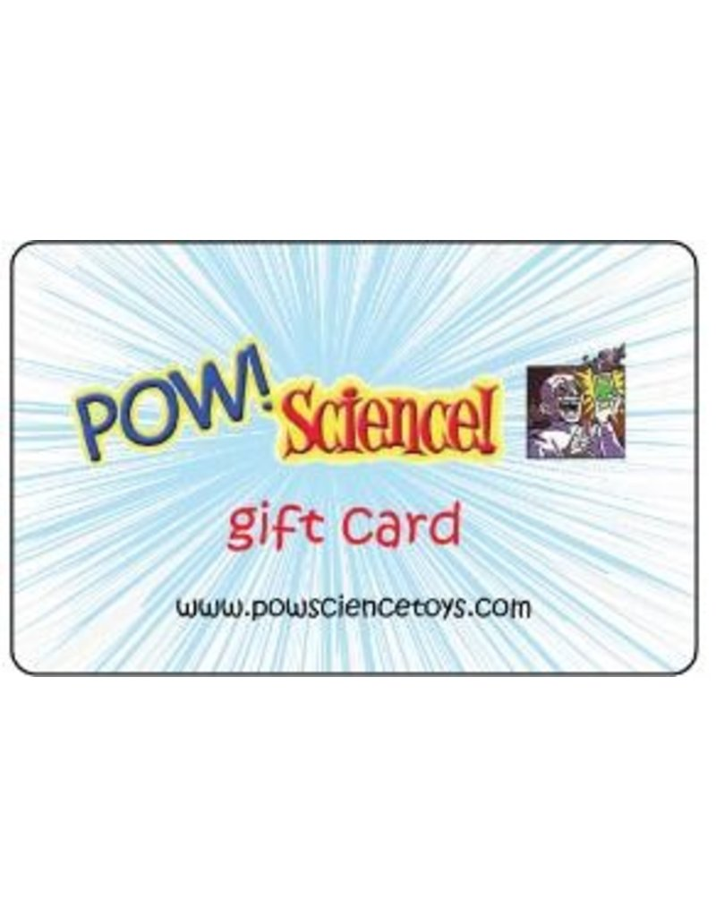 Pow! Science! Gift Card $50
