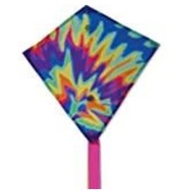 Premier Kites Tie Dye Mini Diamond Kite
