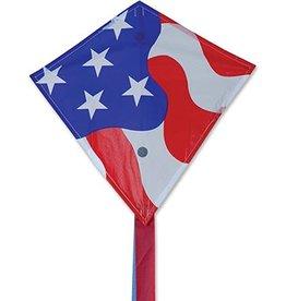 Premier Kites Patriotic Mini Diamond Kite