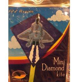 Premier Kites Mini Diamond Kite - F22 Raptor