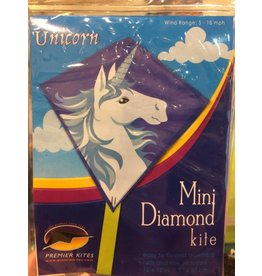 Premier Kites Mini Diamond Kite - Unicorn