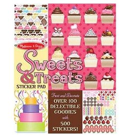 Melissa & Doug Sticker Pad - Sweet & Treats