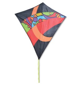 "Premier Kites 38"" Travel Diamond Orbit Tronic Kite"