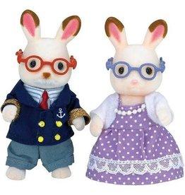 Epoch Calico Critters Hopscotch Rabbit Grandparents