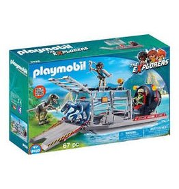 Playmobil Playmobil Enemy Airboat with Raptor