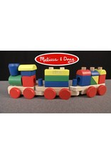 Melissa & Doug Wooden Classic Toy Stacking Train