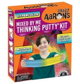 Crazy Aaron Putty Crazy Aaron's Thinking Putty Kit - Mixed by Me - Hypercolor