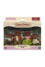 Epoch Calico Critters Chocolate Labrador Family