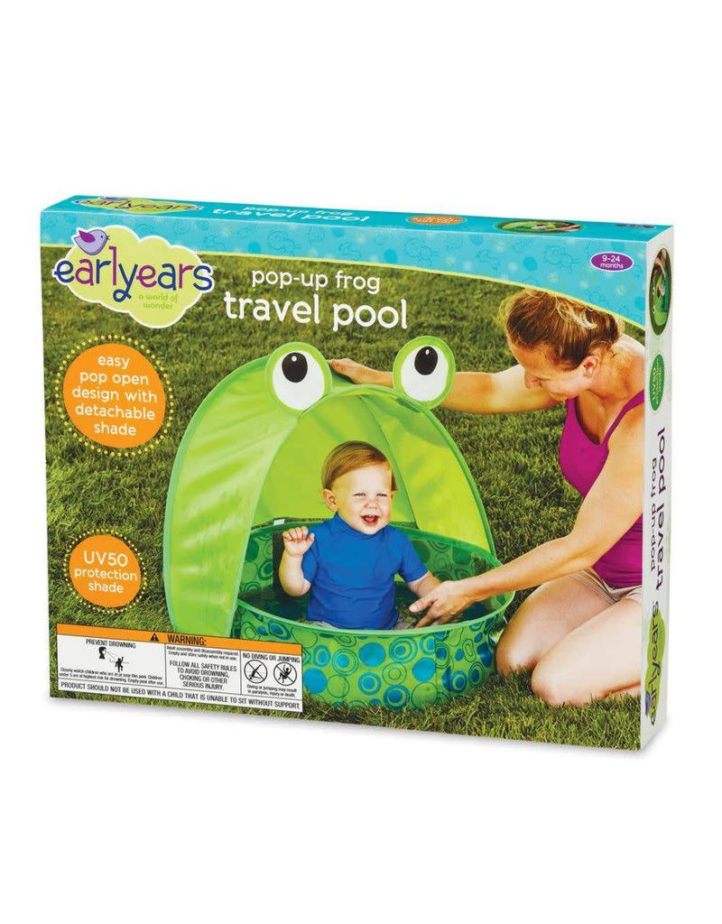 earlyyears Pop Up Frog Travel Pool