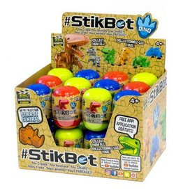 Zing Toys Novelty Stikbot Dino Eggs (Assortment)