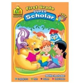 School Zone Workbook - First Grade Super Scholar - Ages 5-7