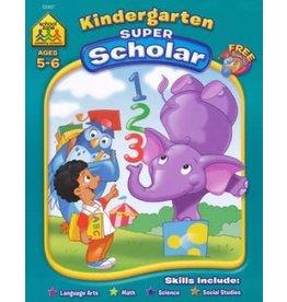 School Zone Workbook - Kindergarten Super Scholar