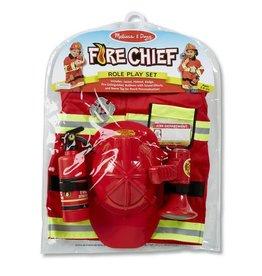 Melissa & Doug Costume - Fire Chief Role Play Set