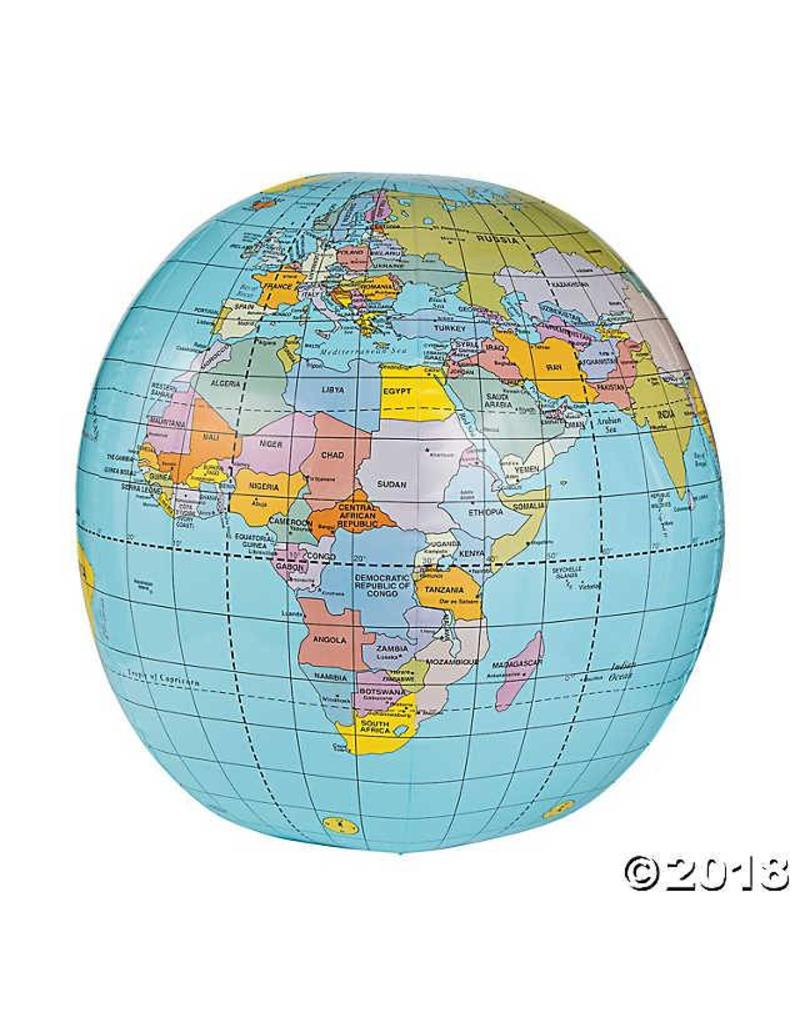 """Tedco Toys Caly 20"""" Inflatable Globe"""